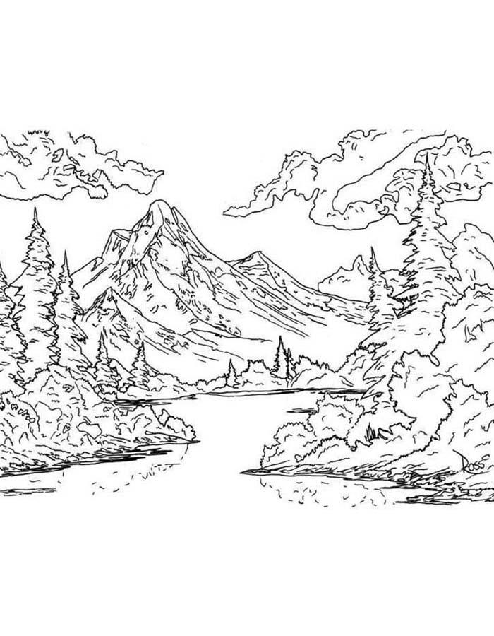 paisagem para colorir 57