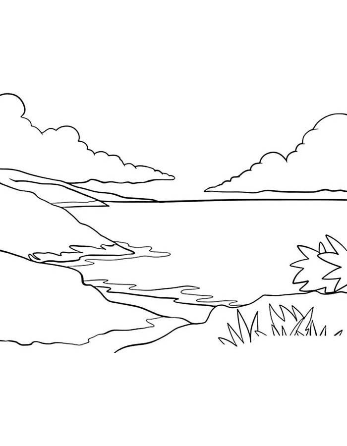 paisagem para colorir 65