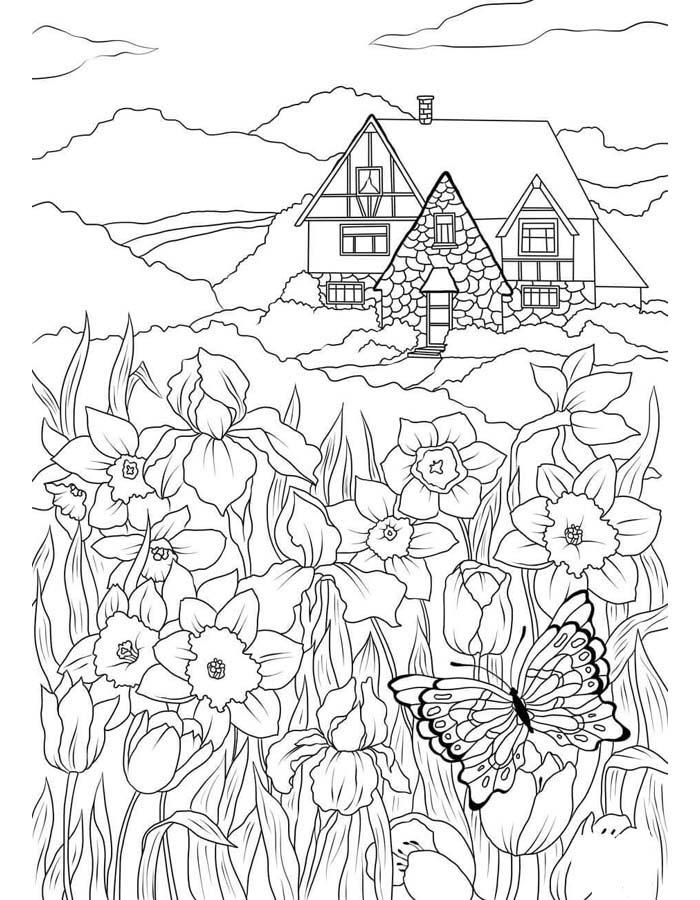 paisagem para colorir 71