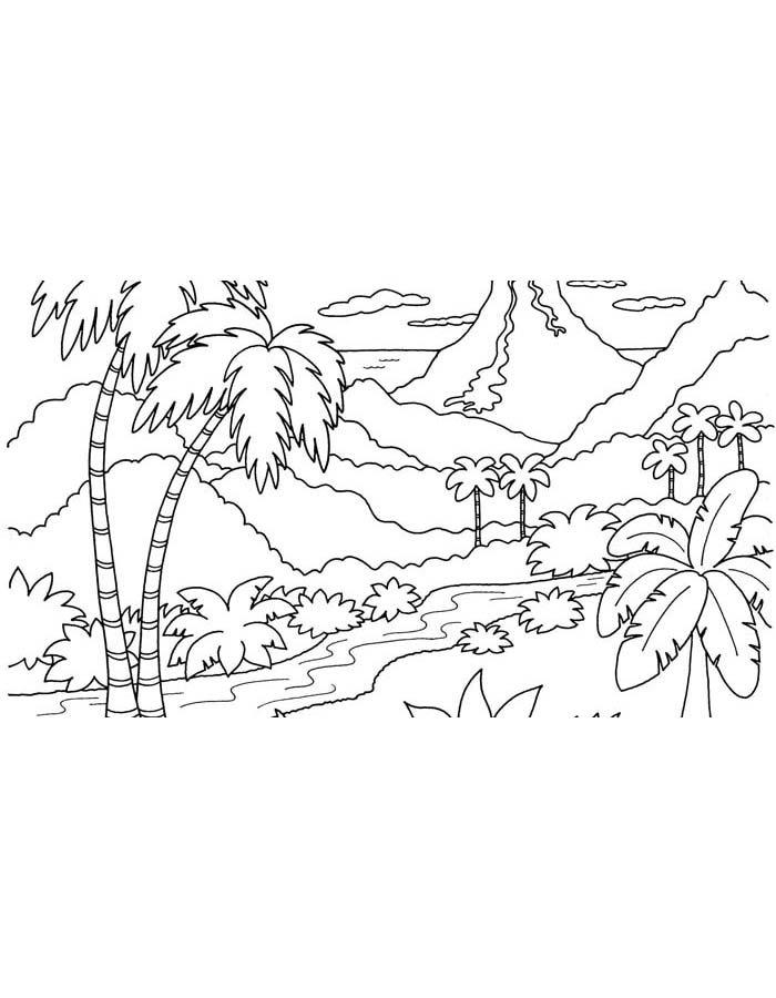 paisagem para colorir 72