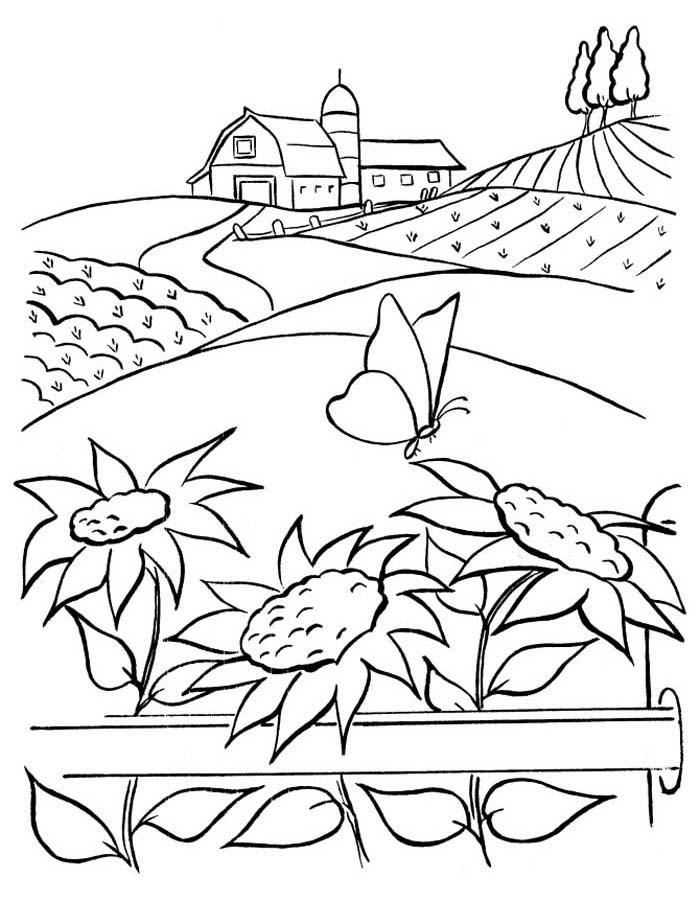 paisagem para colorir 74
