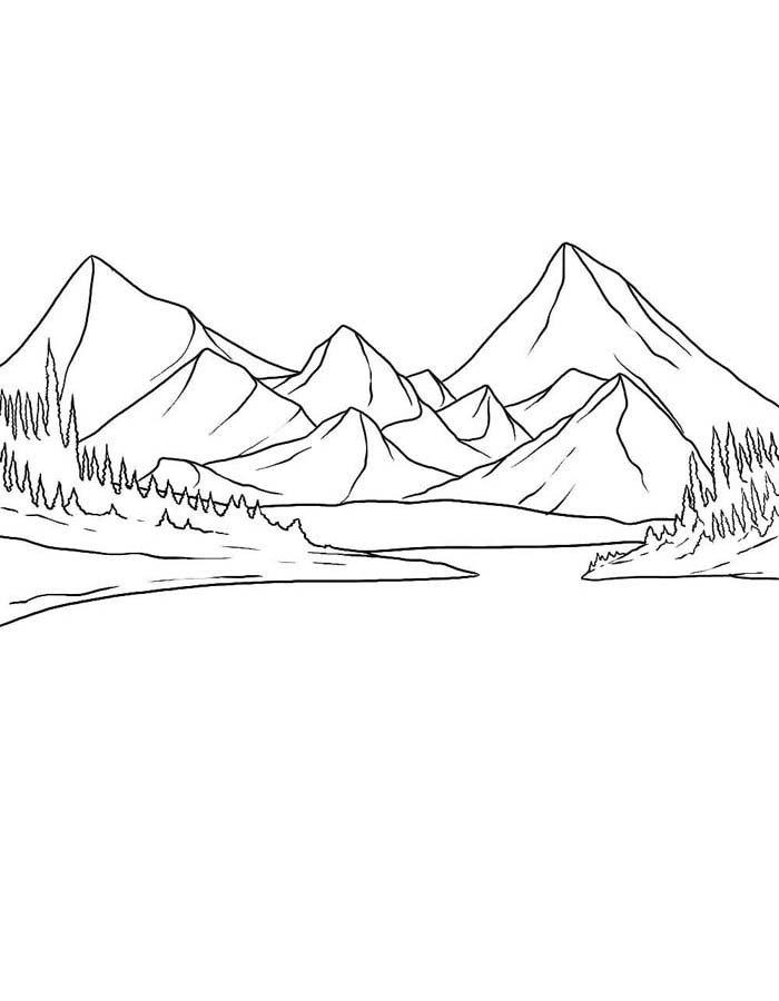 paisagem para colorir 77